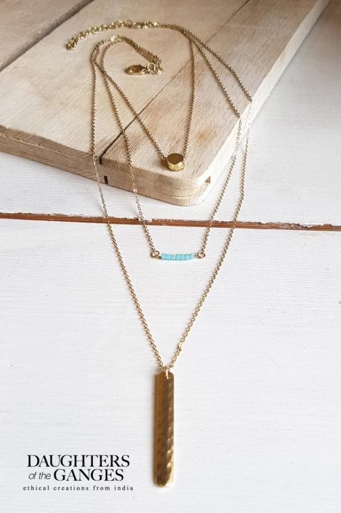 Nomads Drop Pendant Necklace
