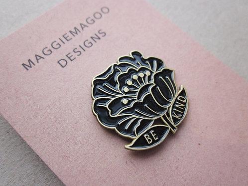 Be Kind Maggie Magoo Pin Badge