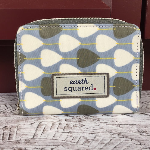 Earth Squared Oil Cloth Wallet