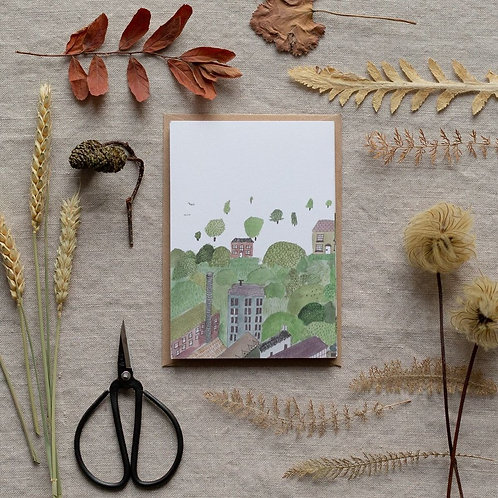 Dear Prudence Valley Concertina Card