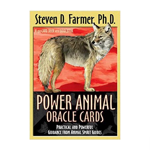 Power Animal Oracle Cards | Steven D Farmer