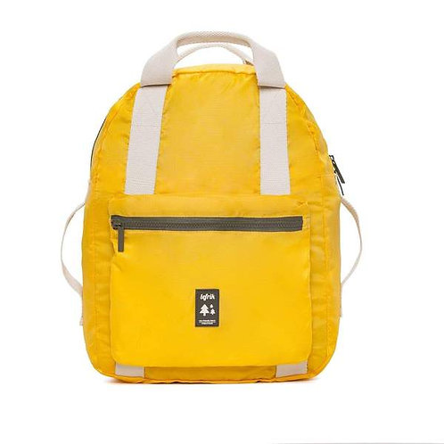 Lefrik Pocket Backpack | Yellow