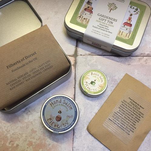 Filberts Bees Gardeners Gift Tin