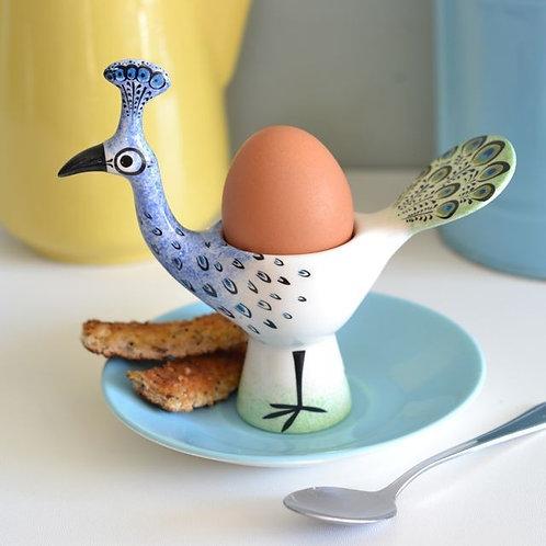 Hannah Turner   Peacock Eggcup