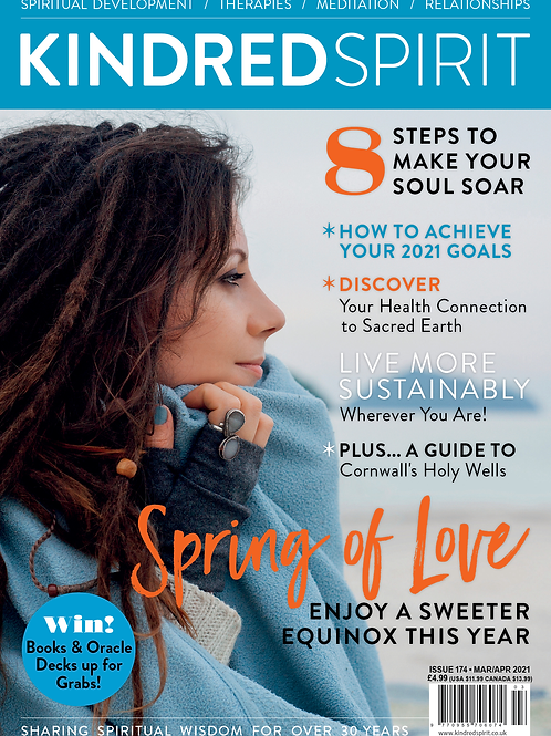 Kindred Spirit  Magazine | March/April 2021