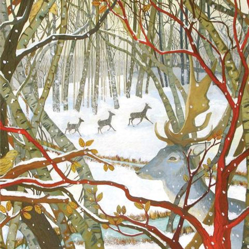 Dry Red Press Greeting Cards   Winter