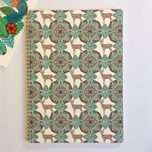 Prism of Starlings | A4 Lined Notebook