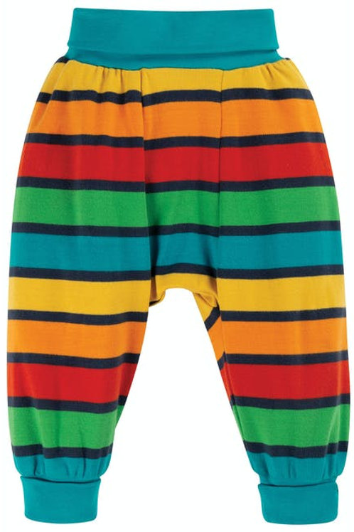 Frugi Bumblebee Rainbow Stripe Trousers
