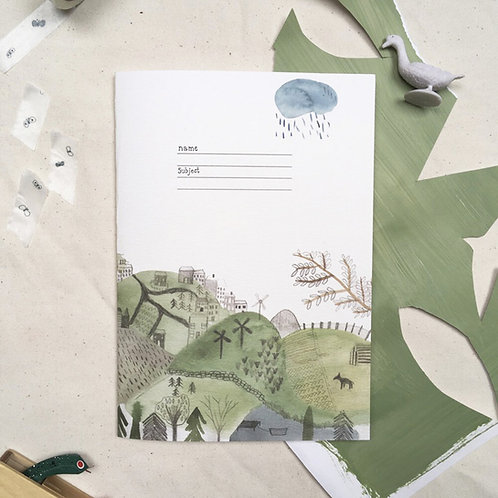 Dear Prudence Lined Jotter | Moss