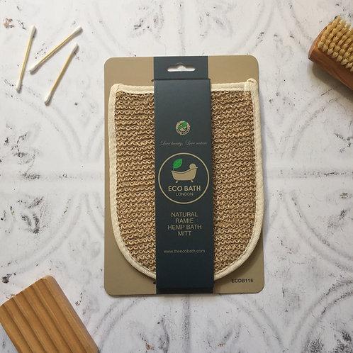 Eco Bath Co. Natural Ramie Bath Mitt
