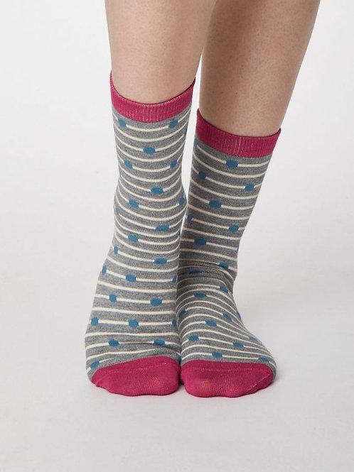 Thought Womens Hope Bamboo Spot Socks