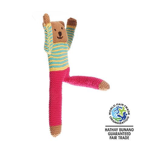 Pebble Floppy Bear - Nancy