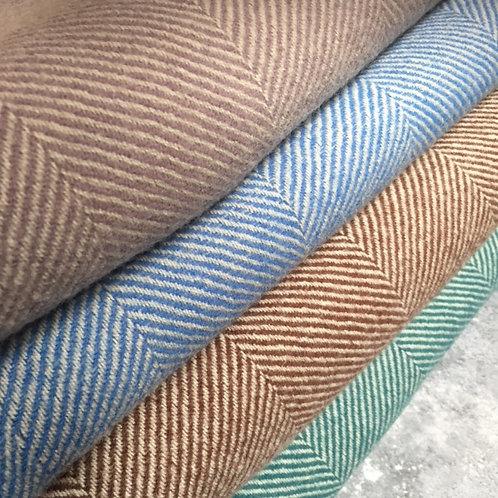 Tweedmill   Recycled Herringbone Wool Throws