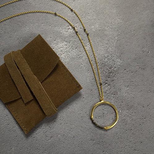 Nkuku Obini Pyrite Necklace