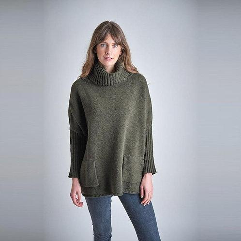 Bibico Adela Wool Jumper | Forest Green