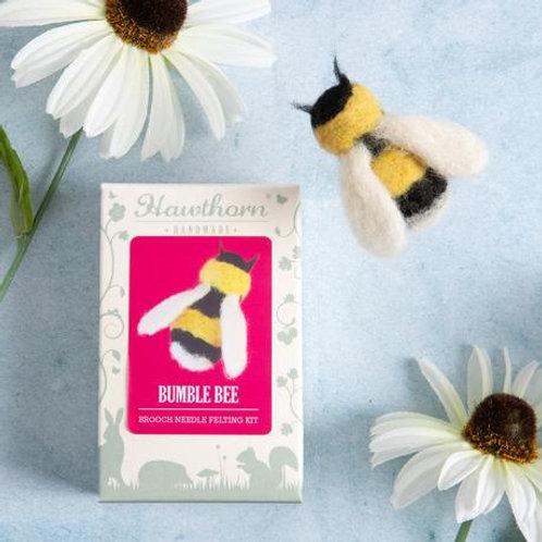 Needle Felting Kit | Bumble Bee
