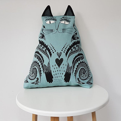 Lush Kitty Cushion