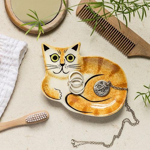 Hannah Turner   Cat Trinket Dish