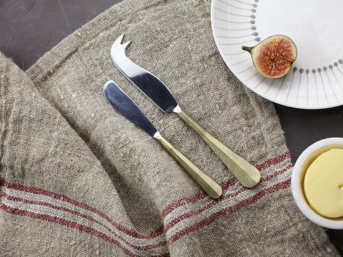 Nkuku Osko Cheese & Butter Knife Set