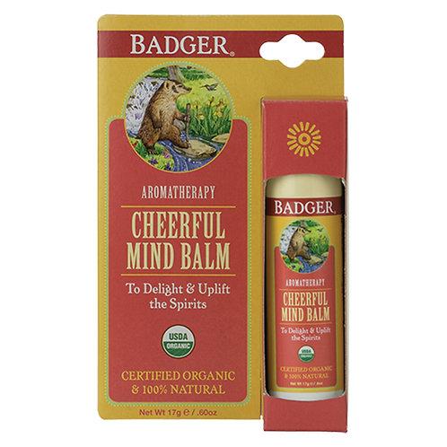 Badger Cheerful Mind Balm Stick