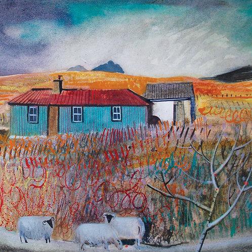 Winter Landscape Cards