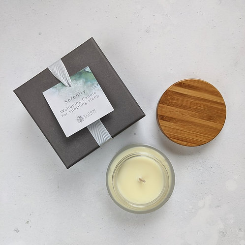 Bloom Remedies Serenity Wellbeing Travel Candle