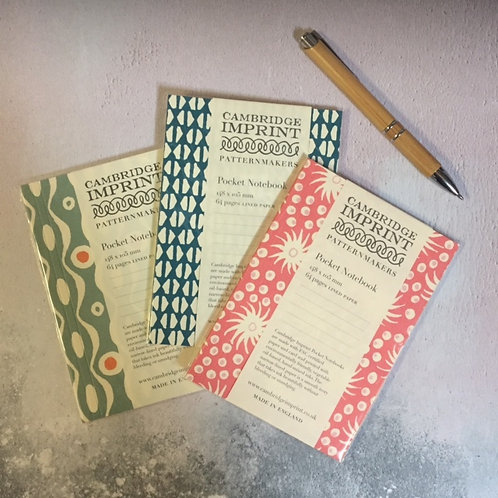 Cambridge Imprint Pocket Notebook