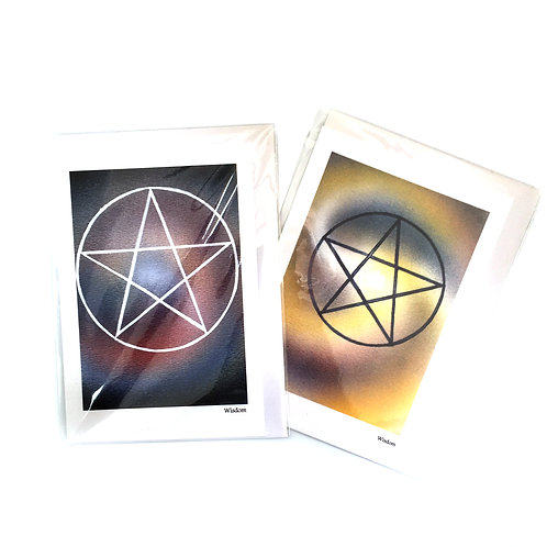 Keli Clark Pentagram Greeting Card