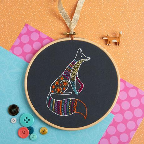 Embroidery Kit | Fox