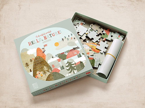 Marbushka Hello Nature Jigsaw Puzzle