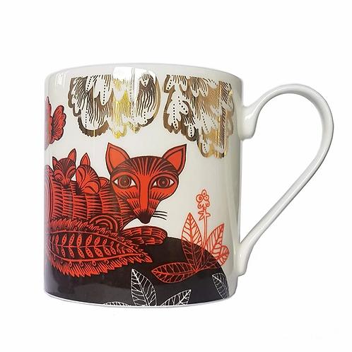 Lush Fox & Cubs Mug