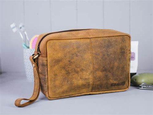 Scaramanga Leather Was Bag