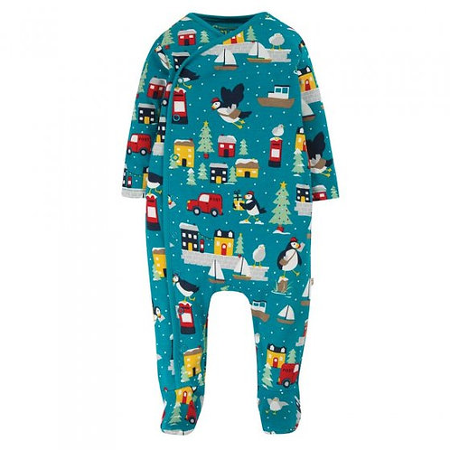 Frugi Puffin Post Babygrow