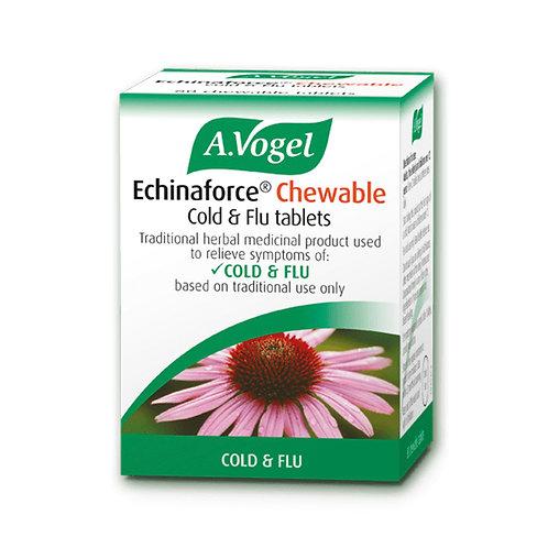 A. Vogel Echinaforce Chewable Cold & Flu Tablets
