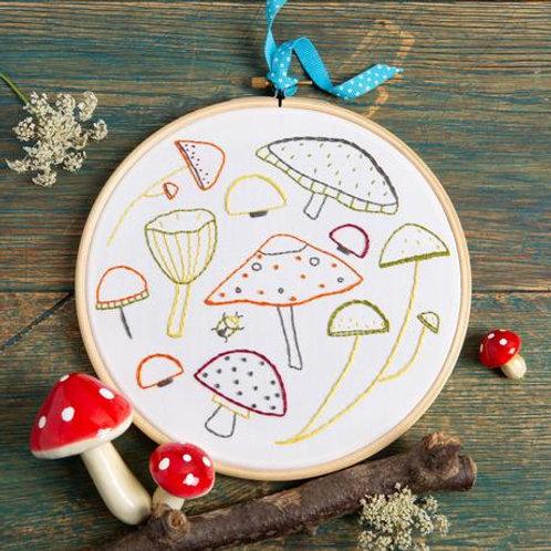 Embroidery Kit | Marvellous Mushrooms