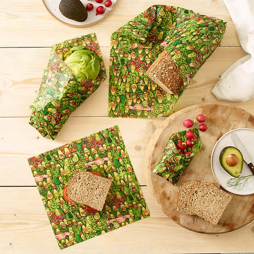 Vegan Food Wrap Packs | Jelly Arm Chair