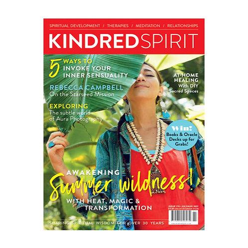 Kindred Spirit  Magazine   July/August 2021