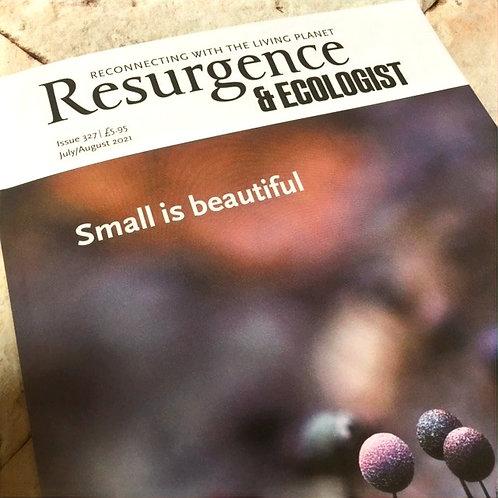 Resurgence & Ecologist Magazine | July/August 2021