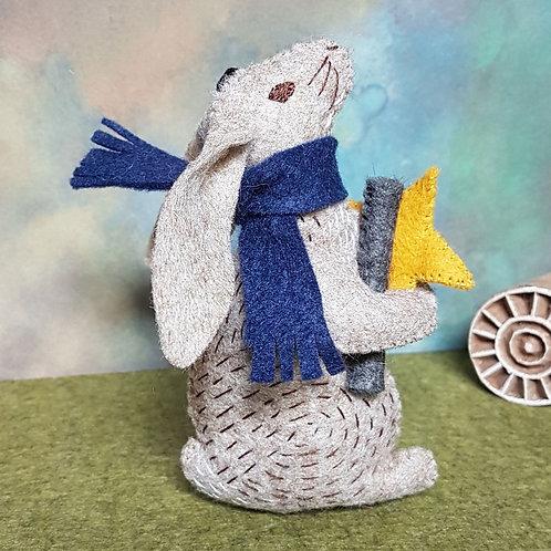 Wool Felt Embroidery Kit | Dr Hare Stargazer