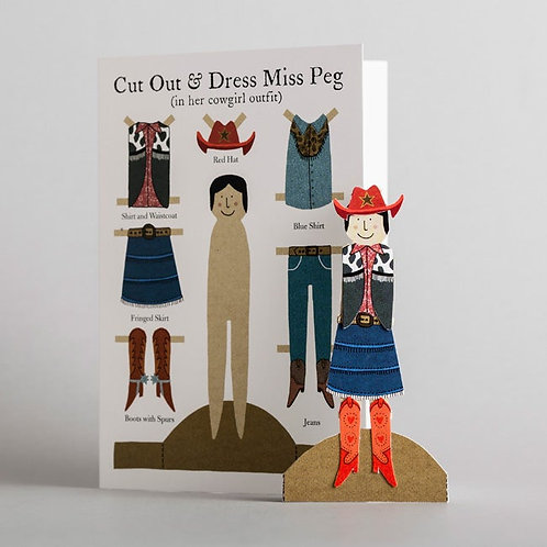 Alice Melvin Cut Out Greeting Cards