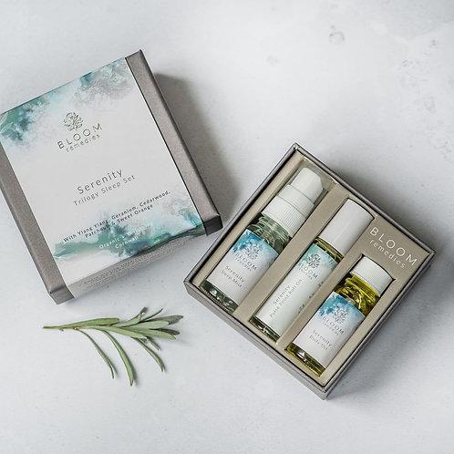 Bloom Remedies Serenity Trilogy Sleep Set