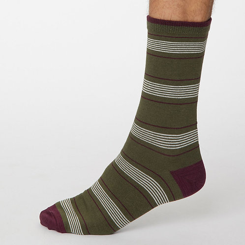Thought Striped Socks
