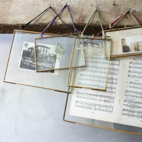 Nkuku Kiko Frame - Antique Brass