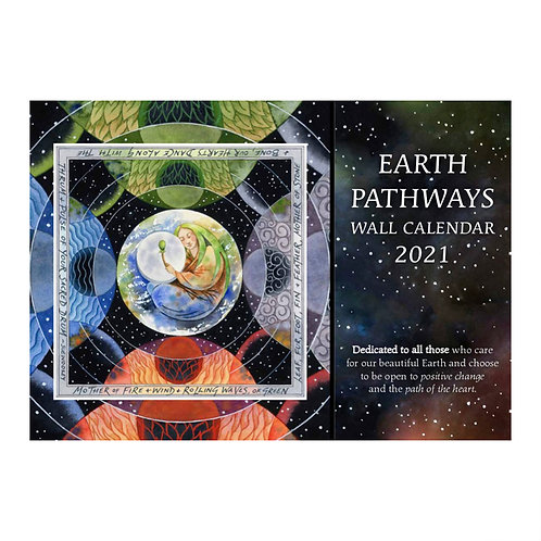 Earth Pathways Wall Calendar 2021