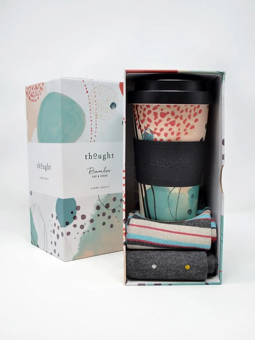 Thought Bamboo Reusable Cup and Socks