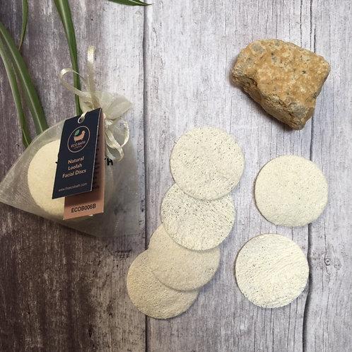 Eco Bath Co. Natural Loofah Facial Discs