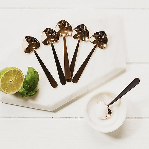 Just Slate | Heart Spoon Set