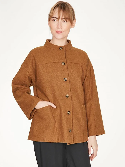 Thought Constance Short Recycled Wool Coat