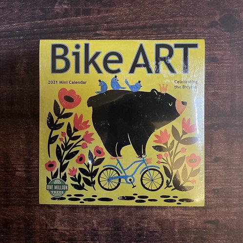 Bike Art Mini Calendar 2021