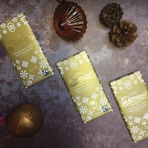 Divine Winter Spice Milk Chocolate